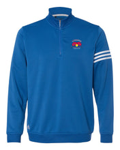 Load image into Gallery viewer, Adidas ClimaLite 3-Stripes French Terry Quarter-Zip Pullover