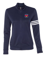 Load image into Gallery viewer, Adidas Women's ClimaLite 3-Stripes French Terry Full-Zip Jacket