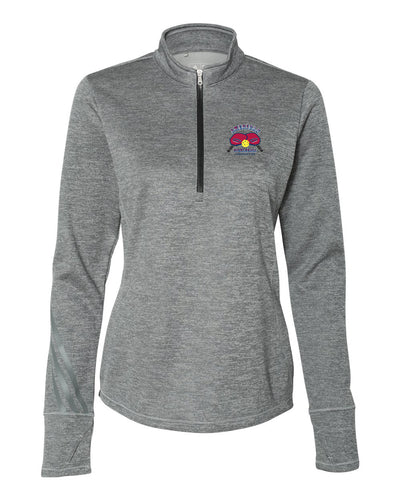Adidas Women's Brushed Terry Heather Quarter-Zip