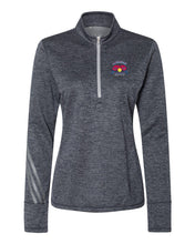 Load image into Gallery viewer, Adidas Women's Brushed Terry Heather Quarter-Zip