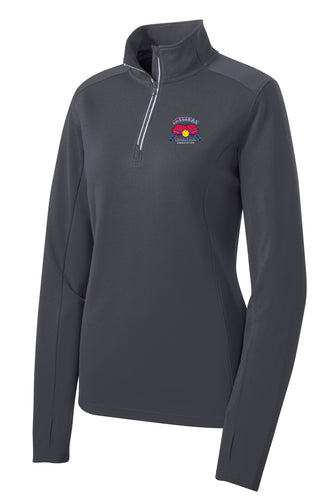 Ladies Sport-Tek ¼ Zip Pullover