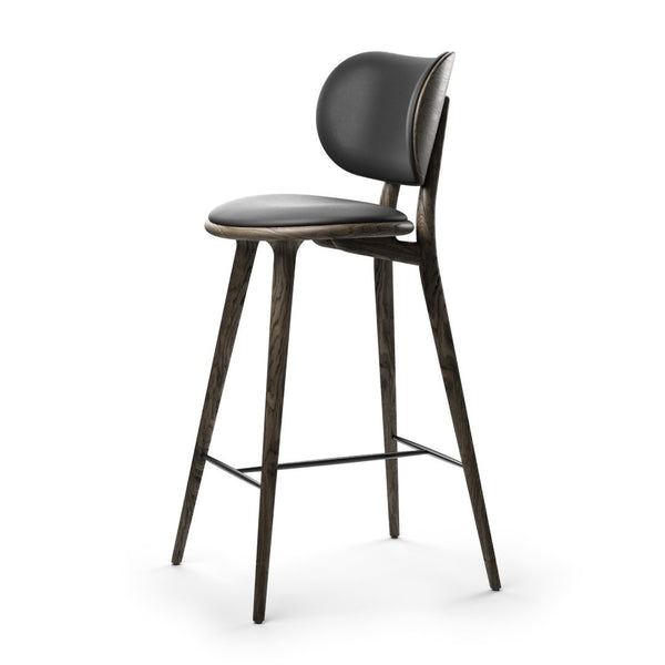 High Stool Backrest | Sirka grey oak | 69 cm