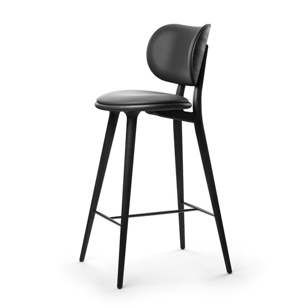 High Stool Backrest | Black beech | 69 cm
