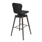 Shell Bar Stool | Ultra Brandy | 72 cm