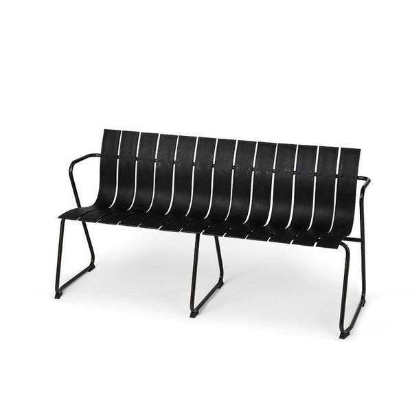 Ocean Bench | Black | by Jørgen & Nanna Ditzel