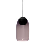 Liuku Pendant Black Ball | Transparent