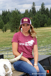 Ladies Muddy Horse Tee