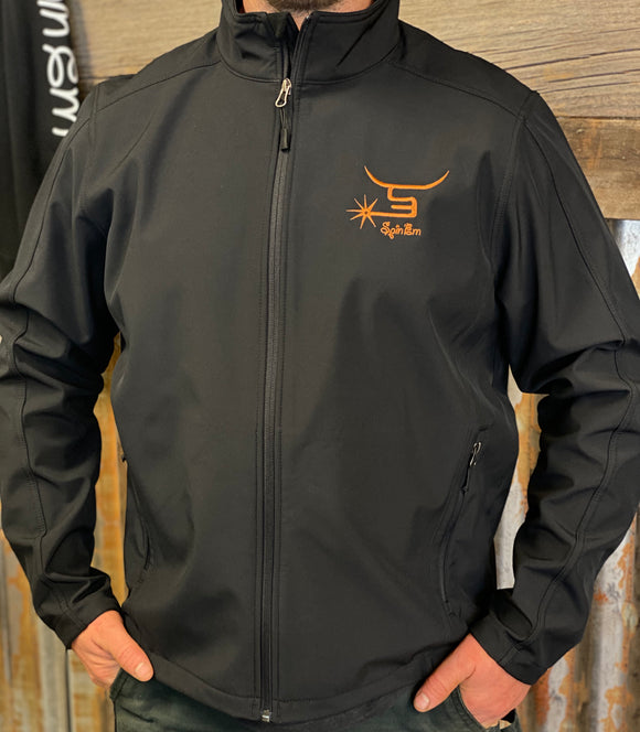 Men's Jackets-Copper Logo