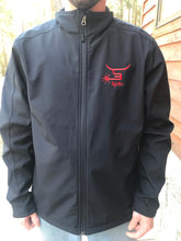 Load image into Gallery viewer, Men's jacket with red logo