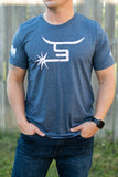 Men's Heather Navy Tee
