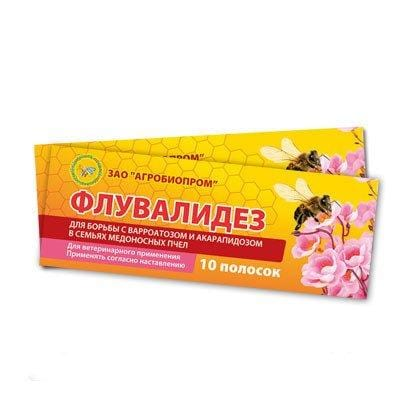 Fluvalidez (2 Packs, 20 Strips) - Beebox2u