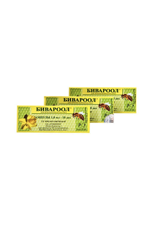 Bivarool for the treatment and prevention varroatosis, in bees 1 ml, Agrobioprom
