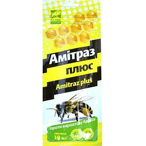 Amitraz Plus Strips (20 Strips) - Prevention of Varroatosis Varroa - Beebox2u