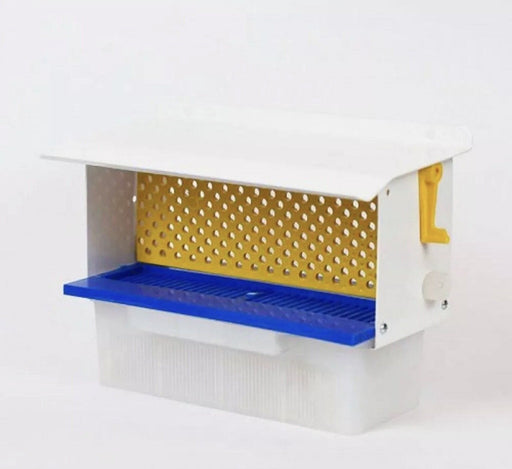 Bee Hive Metal/Plastic Pollen Trap Collector 300MM - Beebox2u