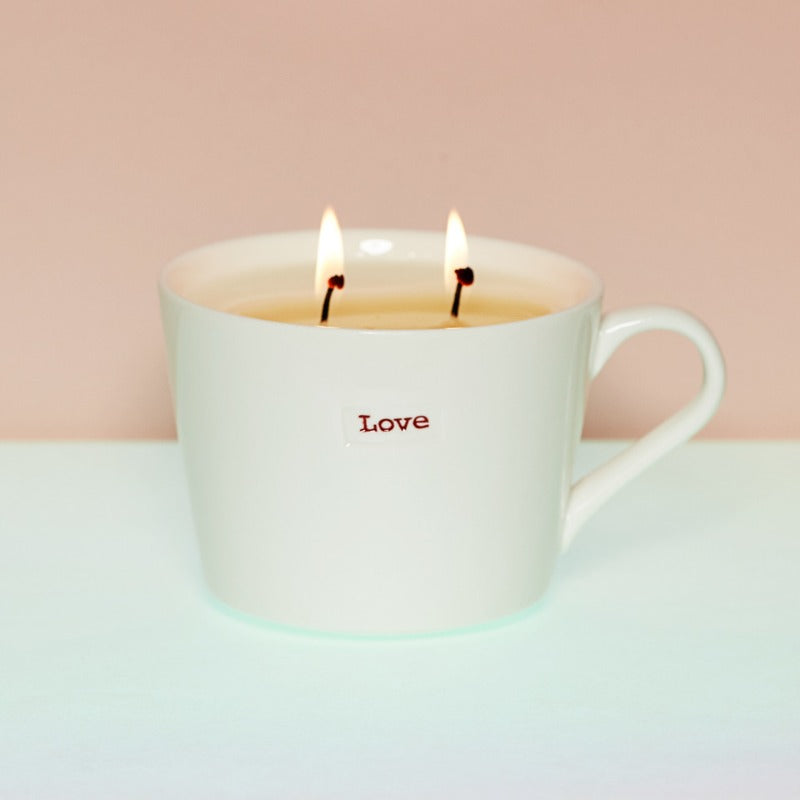 Limited-edition LOVE candle - Rebecca Tracey