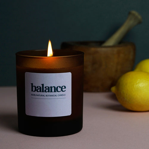 Balance Candle by Rebecca Tracey