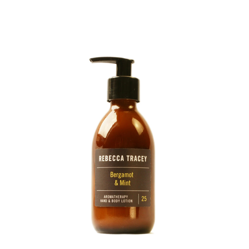 Rebecca Tracey Bergamot & Mint Hand & Body Lotion