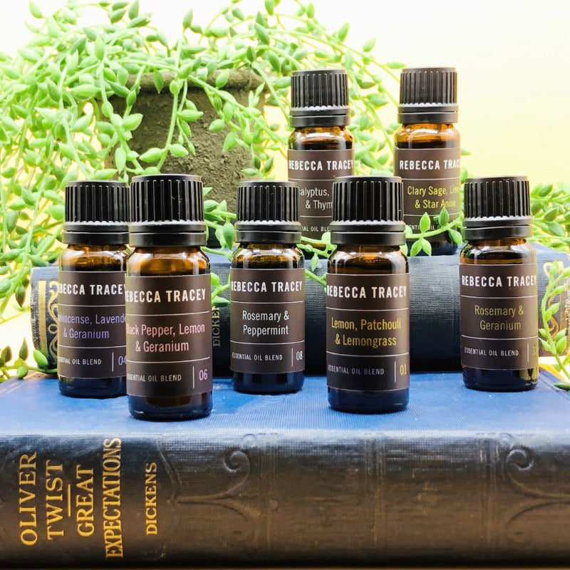Rebecca Tracey Essential Oil Blends