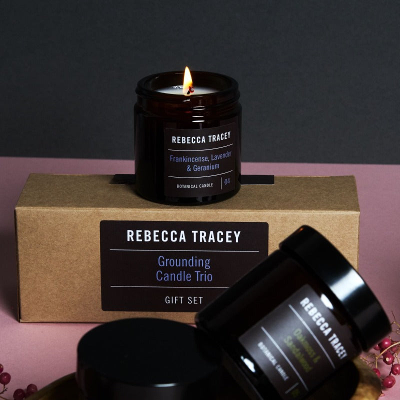 Grounding Candle Trio - Rebecca Tracey