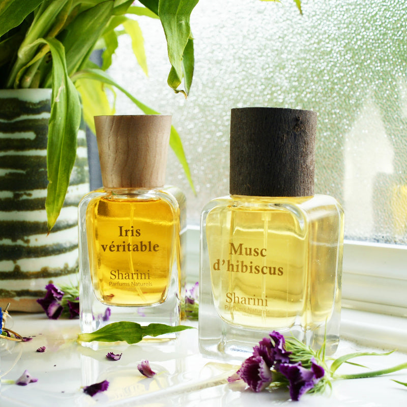 Rebecca Tracey - Iris Véritable (floral powdery) and Musc d'hibiscus