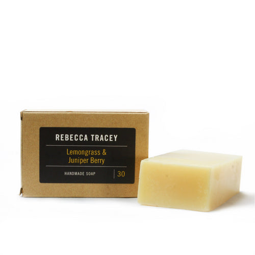 Rebecca Tracey Lemongrass & Juniper Berry Handmade Soap