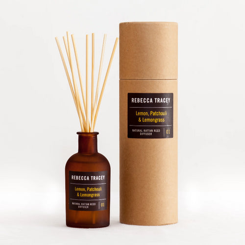 Rebecca Tracey - Lemon, Patchouli & Lemongrass Diffuser