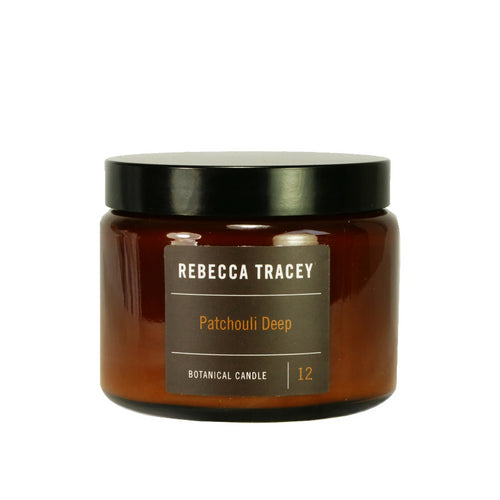Rebecca Tracey Patchouli Deep 3 Wick Candle