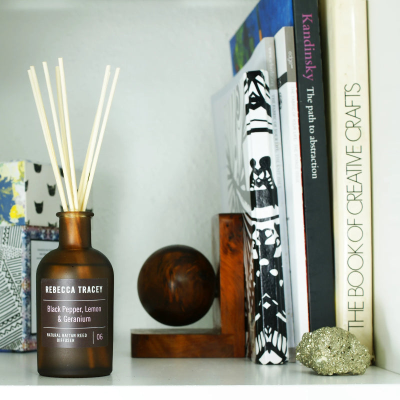 Rebecca Tracey Black Pepper, Lemon & Geranium Diffuser