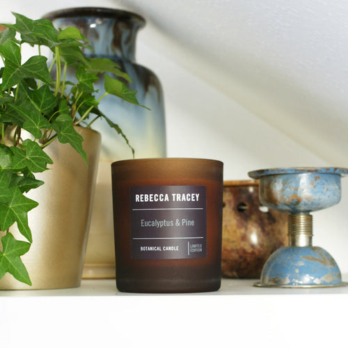 Rebecca Tracey Eucalyptus and Pine Candle