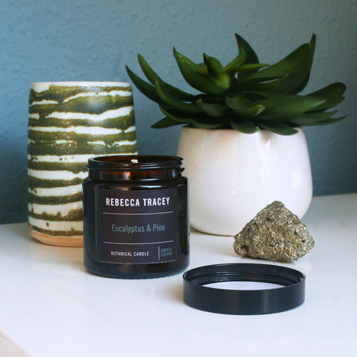 Eucalyptus and Pine Travel Candle