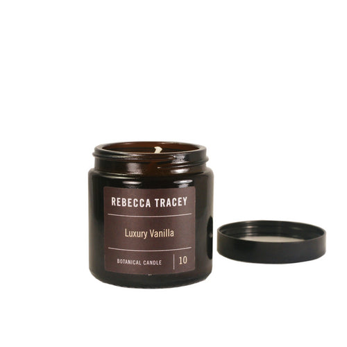 Rebecca Tracey Luxury Vanilla Travel Candle