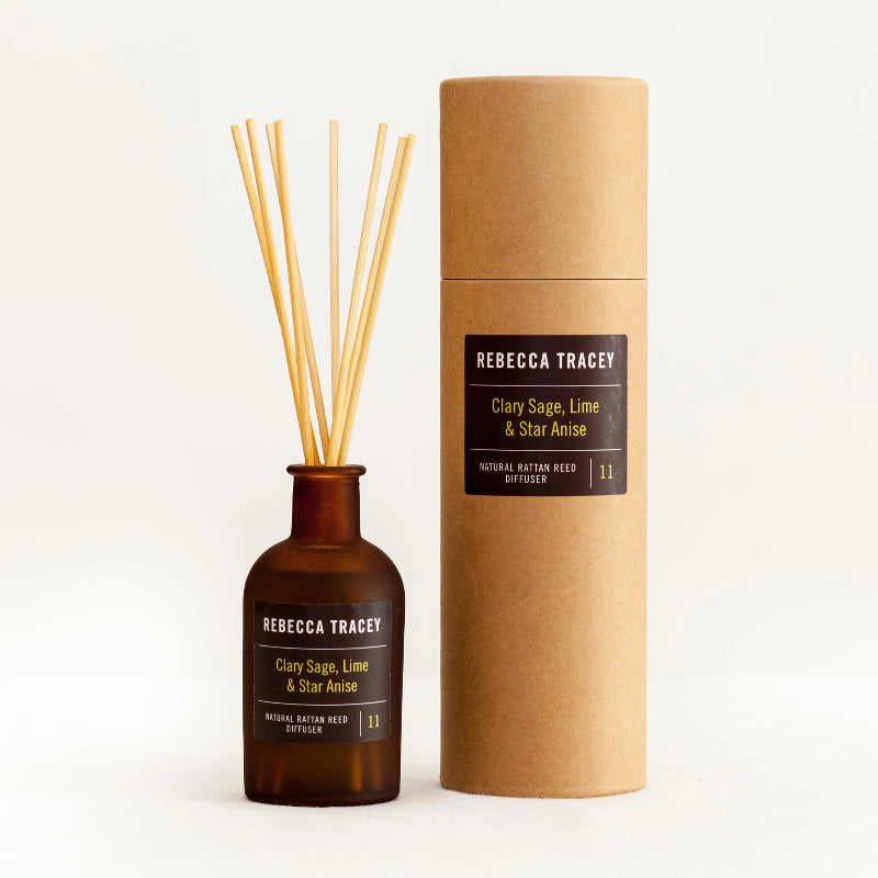 Rebecca Tracey - Clary Sage, Lime & Star Anise Diffuser