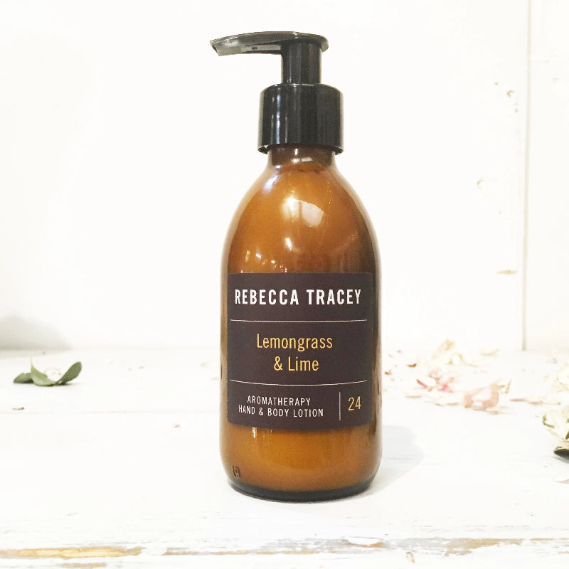 Rebecca Tracey Lemongrasss & Lime Hand & Body Lotion