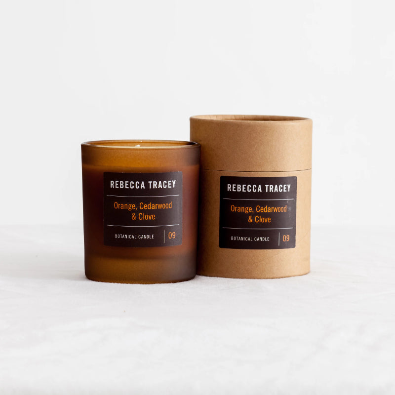 Rebecca Tracey - Orange, Cedarwood & Clove Candle