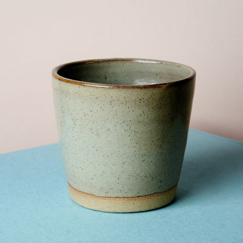 Simple stoneware tumbler - Fern