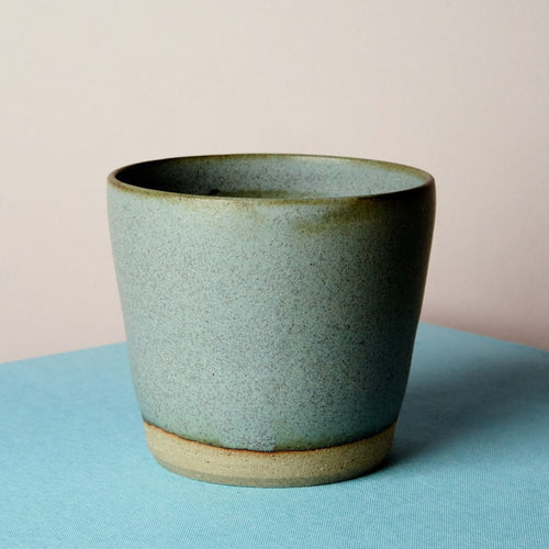 Simple stoneware tumbler - Cloud