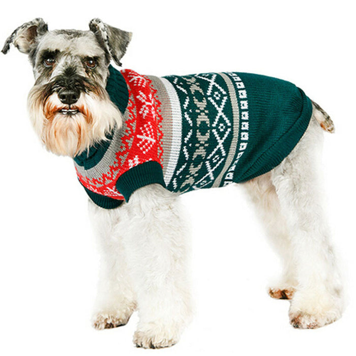 Christmas Sweaters For Dogs.Pet Dog Clothes Winter Warm Dog Coat Jumpsuit Christmas Sweater Dog Clothes For Small Dogs Hondenkleding