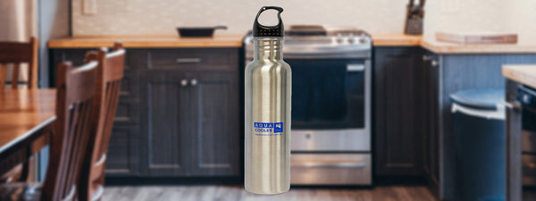 Stainless-steel Water Bottle in Kitchen