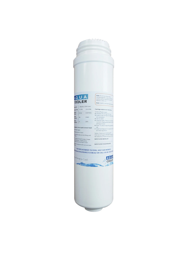 Filter, Chlorine, Taste and Odour Reduction 5M Granular Carbon