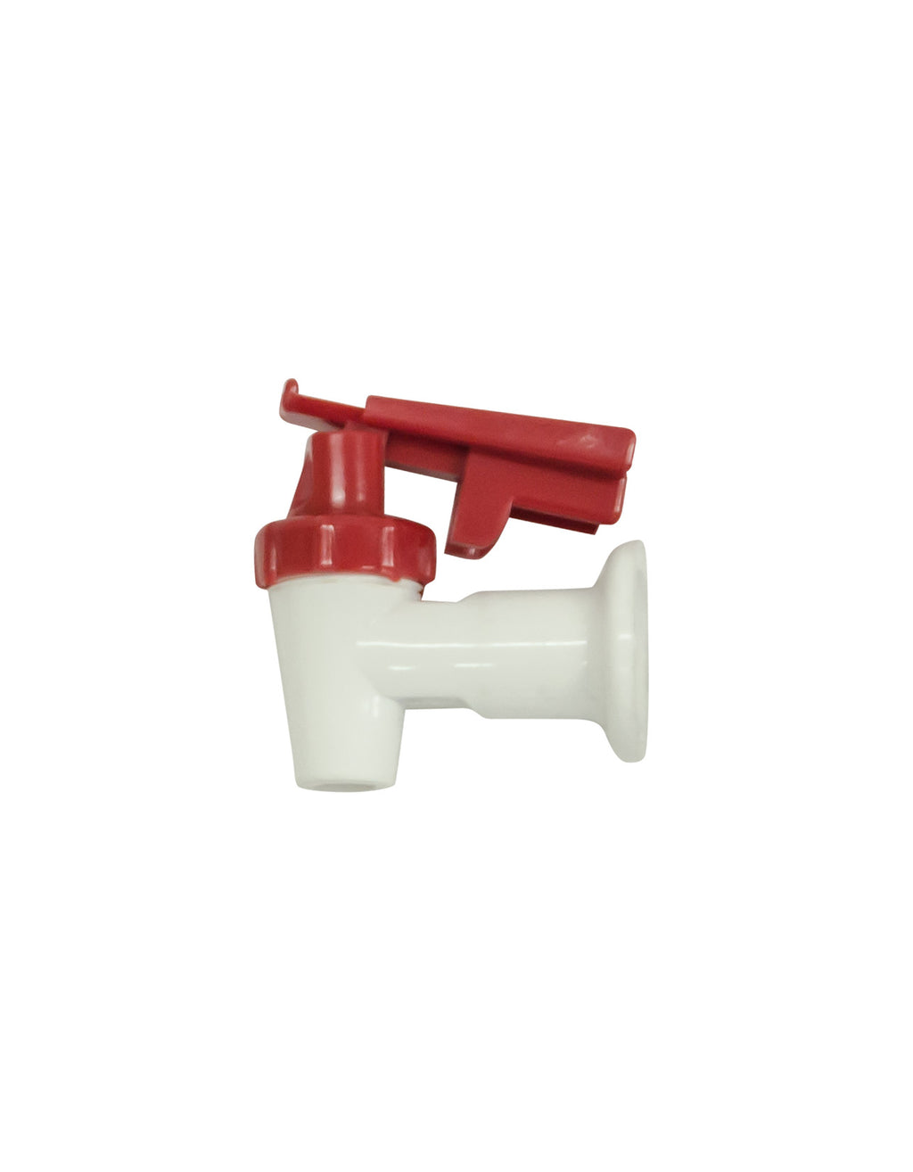 Tap - Red Lever/White Body C/Proof AM
