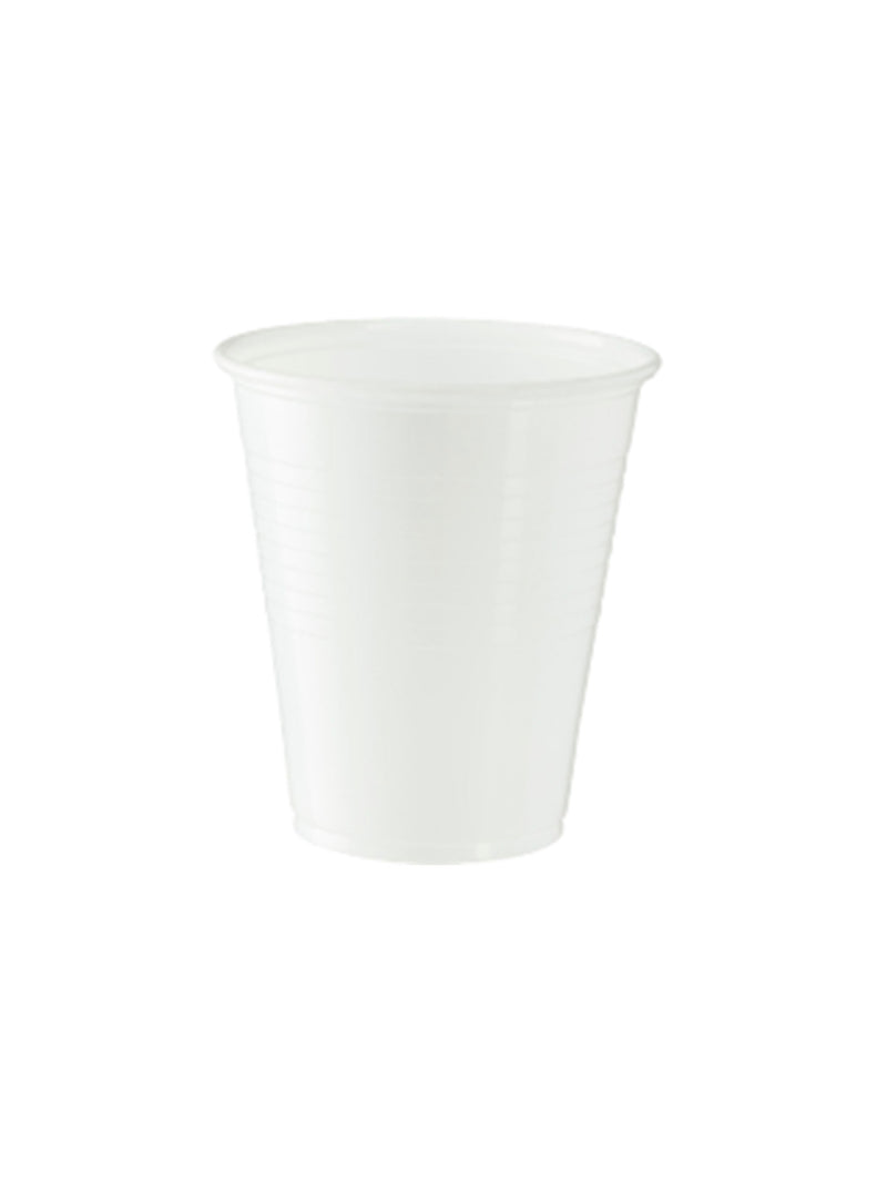 Eco-Smart Plastic Cold Cups - White - 200ml/7oz - Carton of 1000
