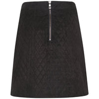 Lane Quilted Velvet Skirt