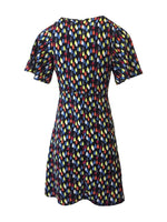 Nerissa Droplet Print Dress