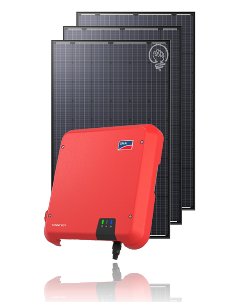 6.6kW SMA SunnyBoy + Flex 300W Package