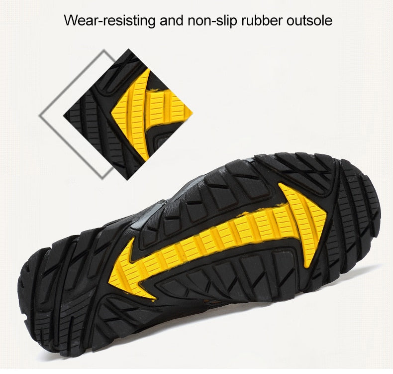 Breathable Mesh Hiking Shoes