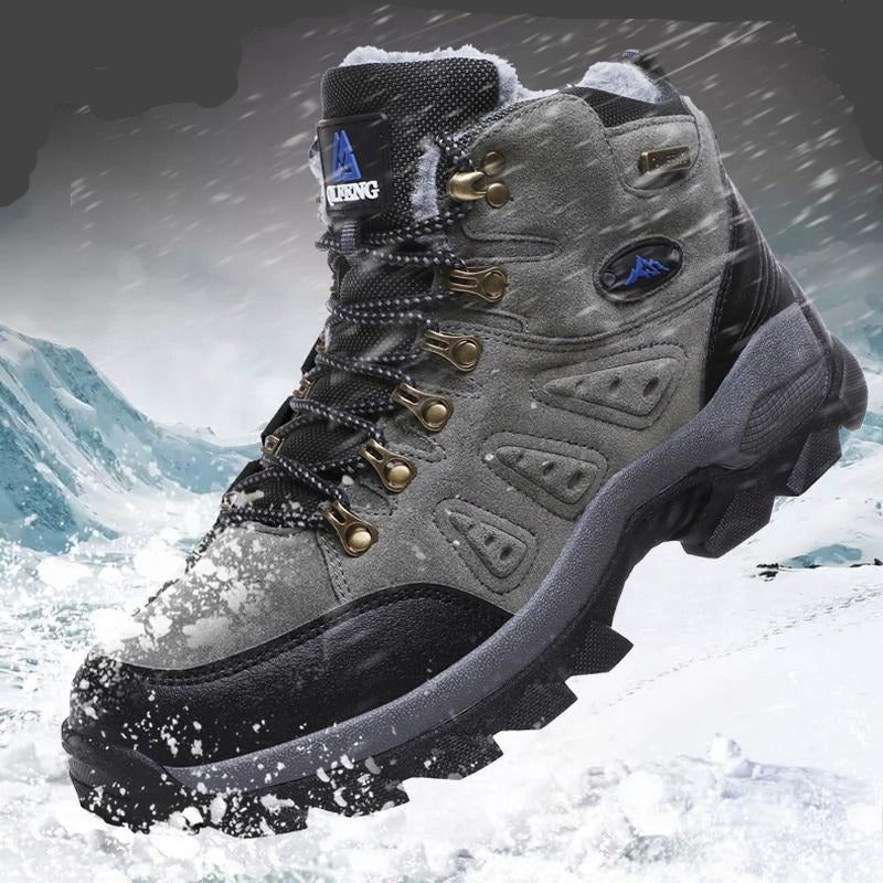 Winter Fur-Lined Mountain Hiking Boots