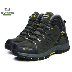 Men's Leather Hiking Boots