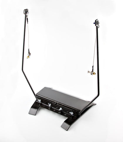 "Free Standing  ""IVO"" Kit Target Stand by Black Carbon, Modular Stands, Black Carbon, Black Carbon"