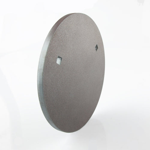 250mm Round Gong 12mm - BISALLOY®500 Target by Black Carbon, targets, Black Carbon, Black Carbon