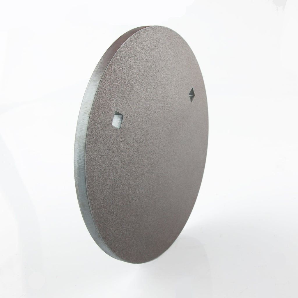 250mm Round Gong 8mm - BISALLOY®500 Target by Black Carbon, targets, Black Carbon, Black Carbon